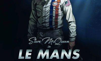 Steve McQueen-Le Mans-Graphic Novel by Sandro Garbo-1