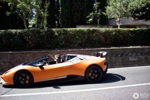 Lamborghini Huracan Performante Spyder-spy shots-1