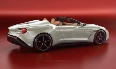 2019 Aston Martin Vanquish Zagato Speedster Render-Peisert Design