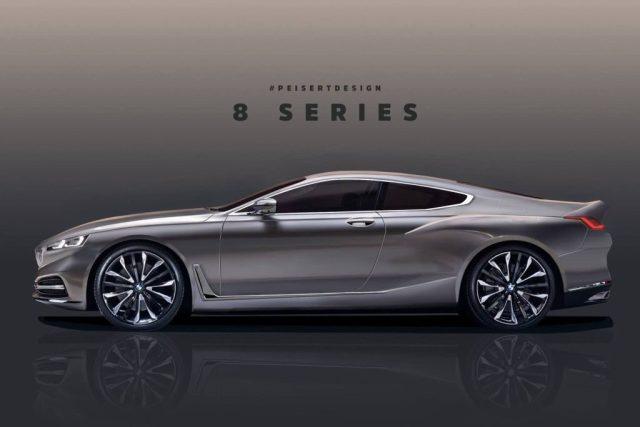 BMW 8 Series Rendering-Peisert Design
