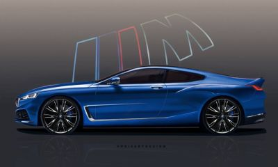 BMW M8 Coupe Rendering-Peisert Design