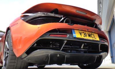 McLaren 720S Hot Start Mode-Easter Egg-Loud Exhaust