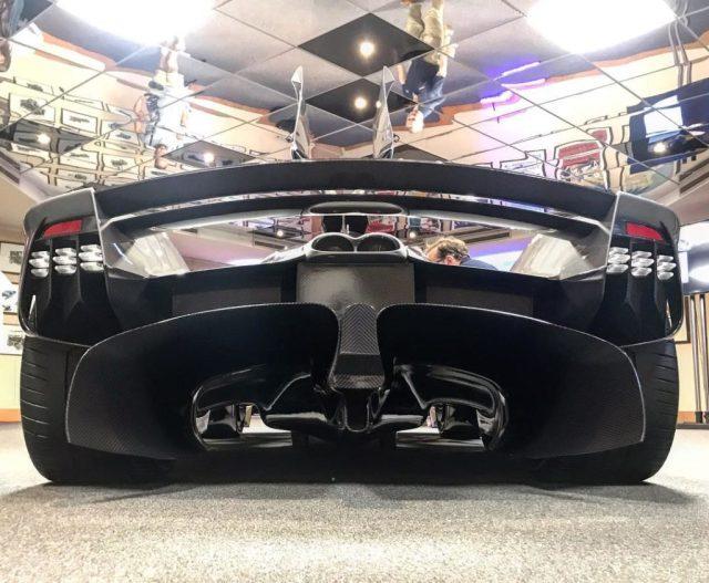 Aston Martin Valkyrie-rear diffuser