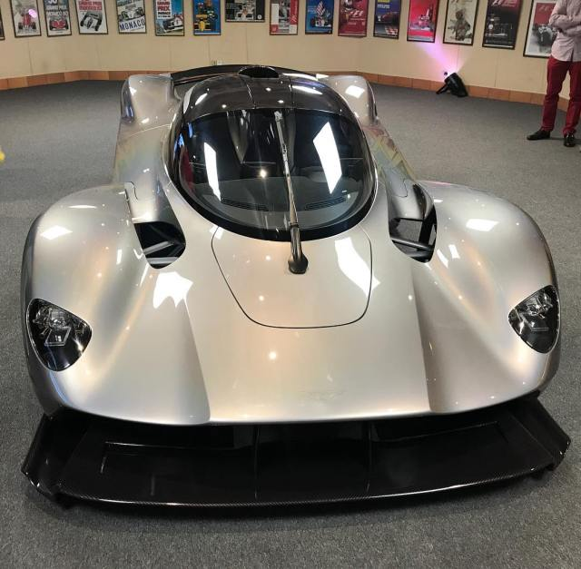 Aston Martin Valkyrie Sport: Aston Martin Valkyrie Has An Insanely Large Diffuser And