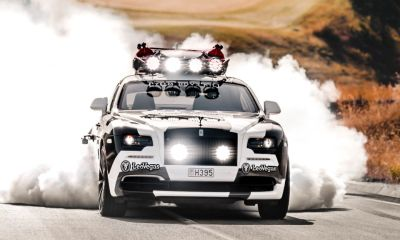 Jon Olsson-Rolls Royce Wraith-George
