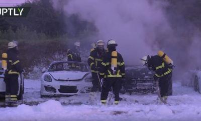 Porsche Hamburg-G20 Arson Attack