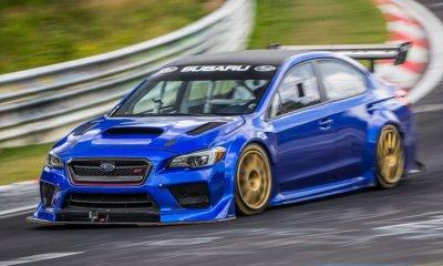 Subaru WRX STI Type RA NBR Special-Nurburgring lap record-1