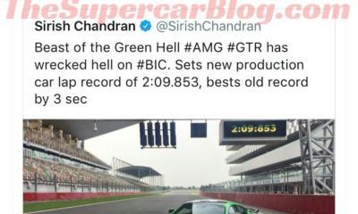 Nissan-India-AMG GT R-retweet