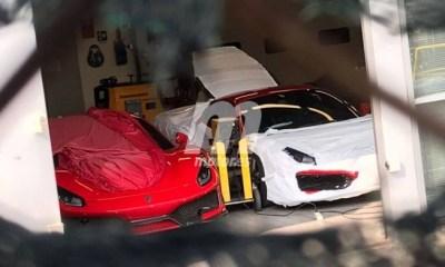 Ferrari 488 GTO-Speciale spy shots-1