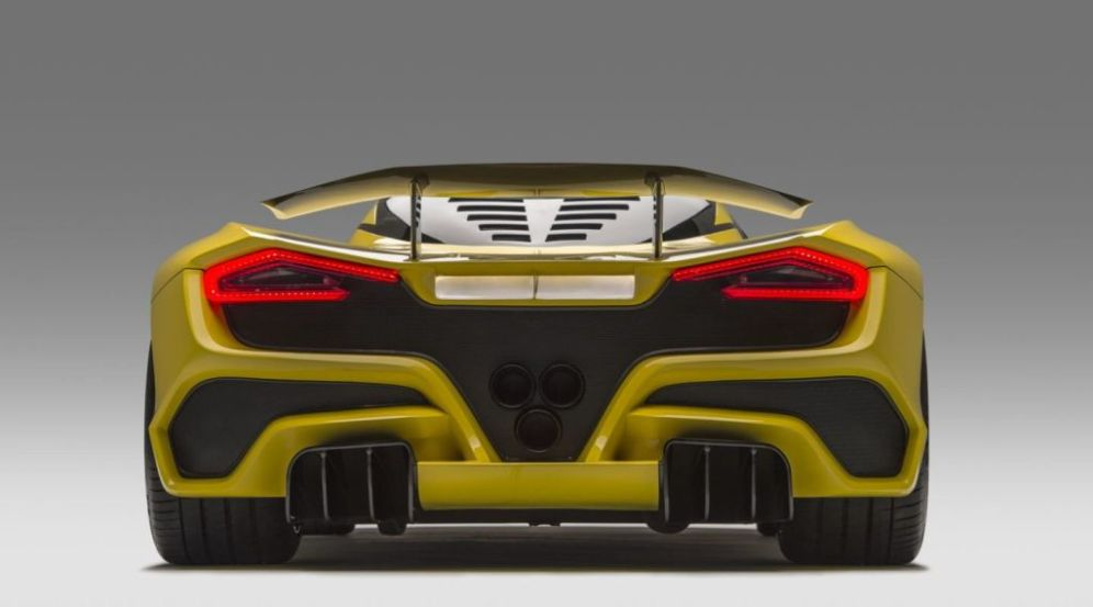 Hennessey Venom F5 Shoots For 311 Mph Top Speed