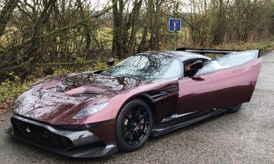 Street-legal Aston Martin Vulcan