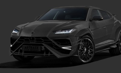 Custom Lamborghini Urus-carbon bodykit-Artrace Car Design-rendering