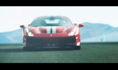 Ferrari 488 GTO teaser