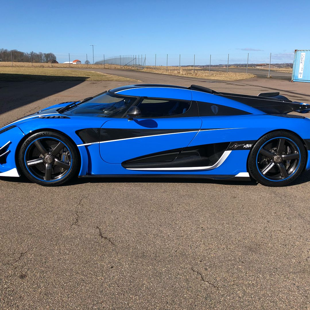 Koenigsegg Agera Rs 1: One-off Koenigsegg Agera RSN Is The Last Of The Breed