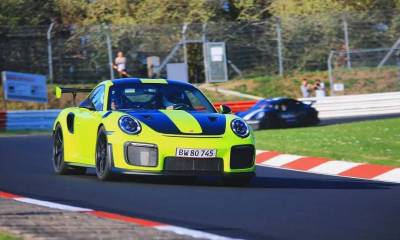 Porsche 911 GT2 RS Nurburgring-crash-1