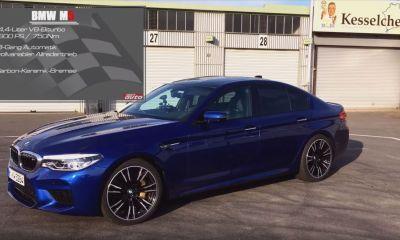 BMW M5-Nurburgring-Sport Auto Magazine