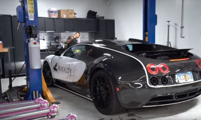 Bugatti Veyron-Oil Change-DIY