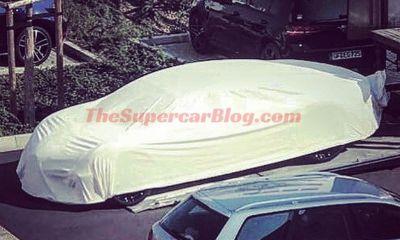 Bugatti 4 door hybrid spy shots scoop Galibier