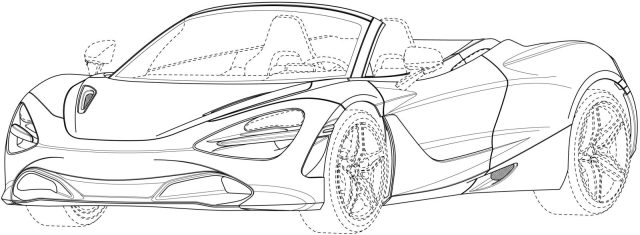 McLaren 20S Spider Patent Images Leaked - The Supercar Blog
