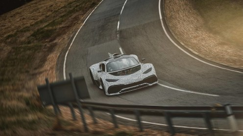 mercedes amg project one road testing 01