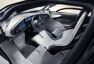 2019 McLaren Speedtail interior 2