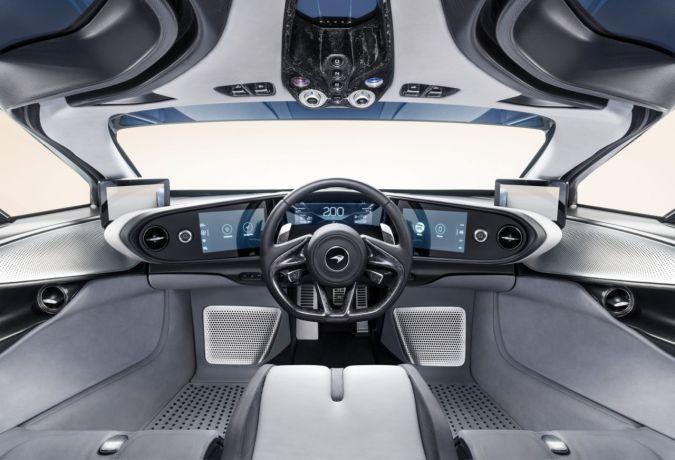 2019 McLaren Speedtail interior 3