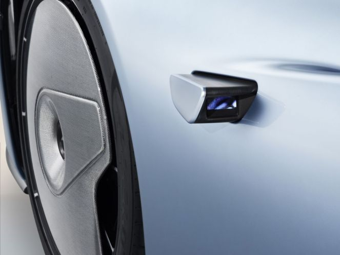 2019 McLaren Speedtail rearview camera