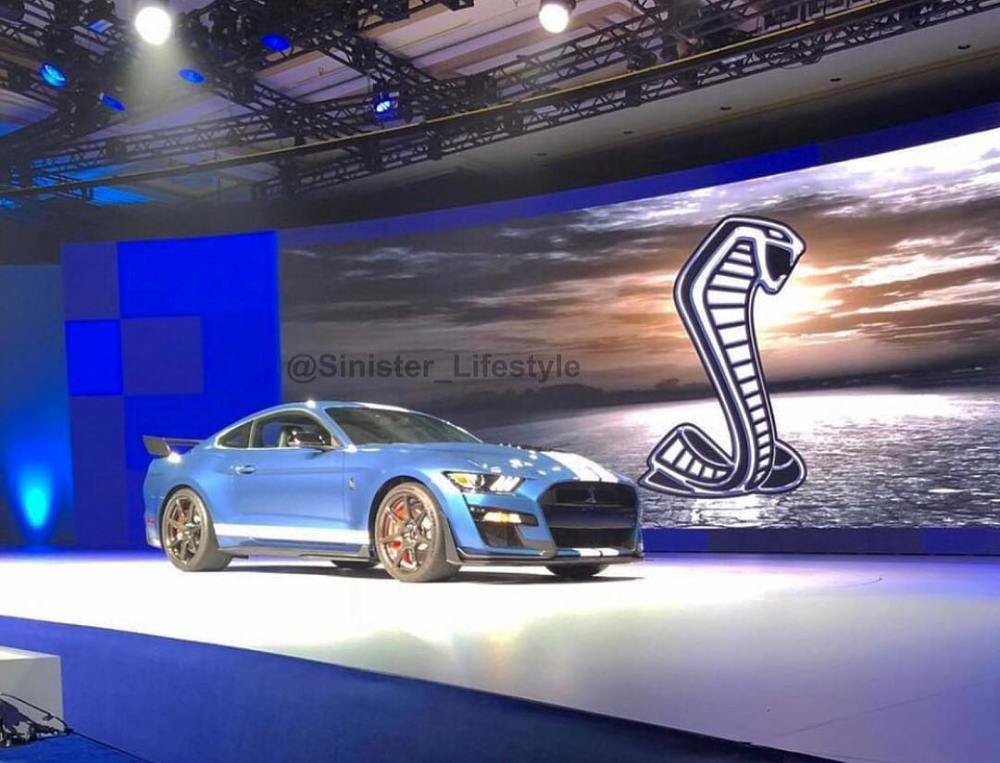 2019 Shelby Mustang GT500 Leaked 2