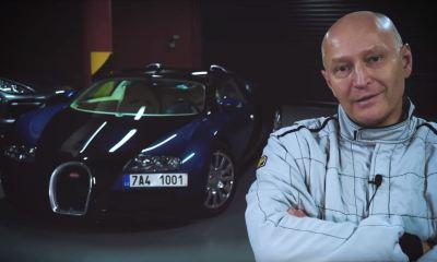 Radim Passer Bugatti Veyron top speed public road