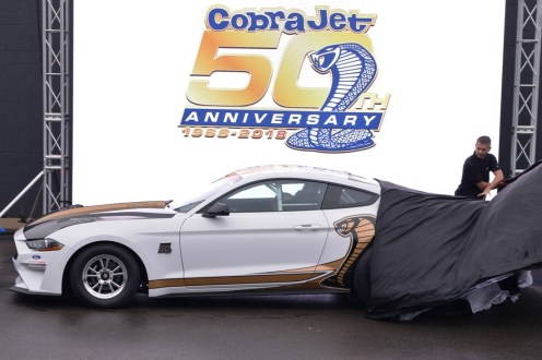 50th Anniversary Ford Mustang Cobra Jet
