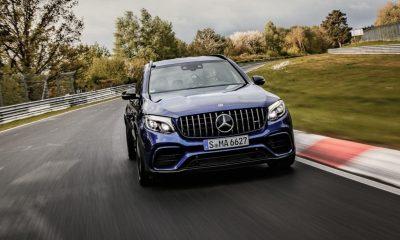 Mercedes-AMG GLC 63 S SUV Nurburgring