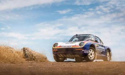 Porsche 959 Rally Car-RM Sothebys Auction-2018-1