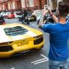 Supercars of London-car spotter