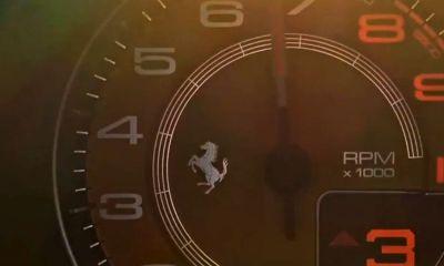 Ferrari 488 replacement-successor-teaser video