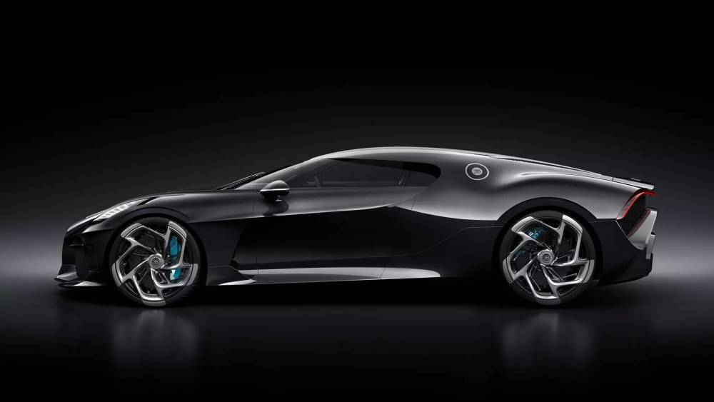 Bugatti La Voiture Noire-2019 Geneva Motor Show-3
