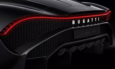 Bugatti La Voiture Noire-2019 Geneva Motor Show-6