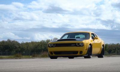 Dodge Demon-top-speed-run