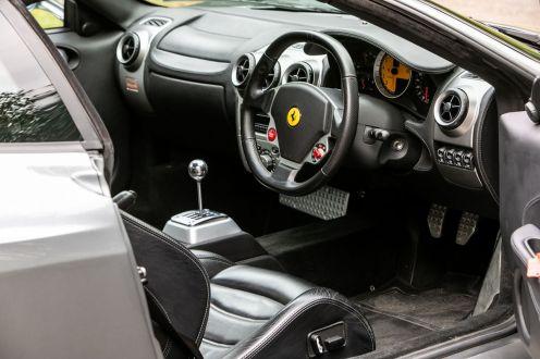 Ferrari F430-Manual-gated-shifter-Gordon Ramsay-auction-for-sale-4