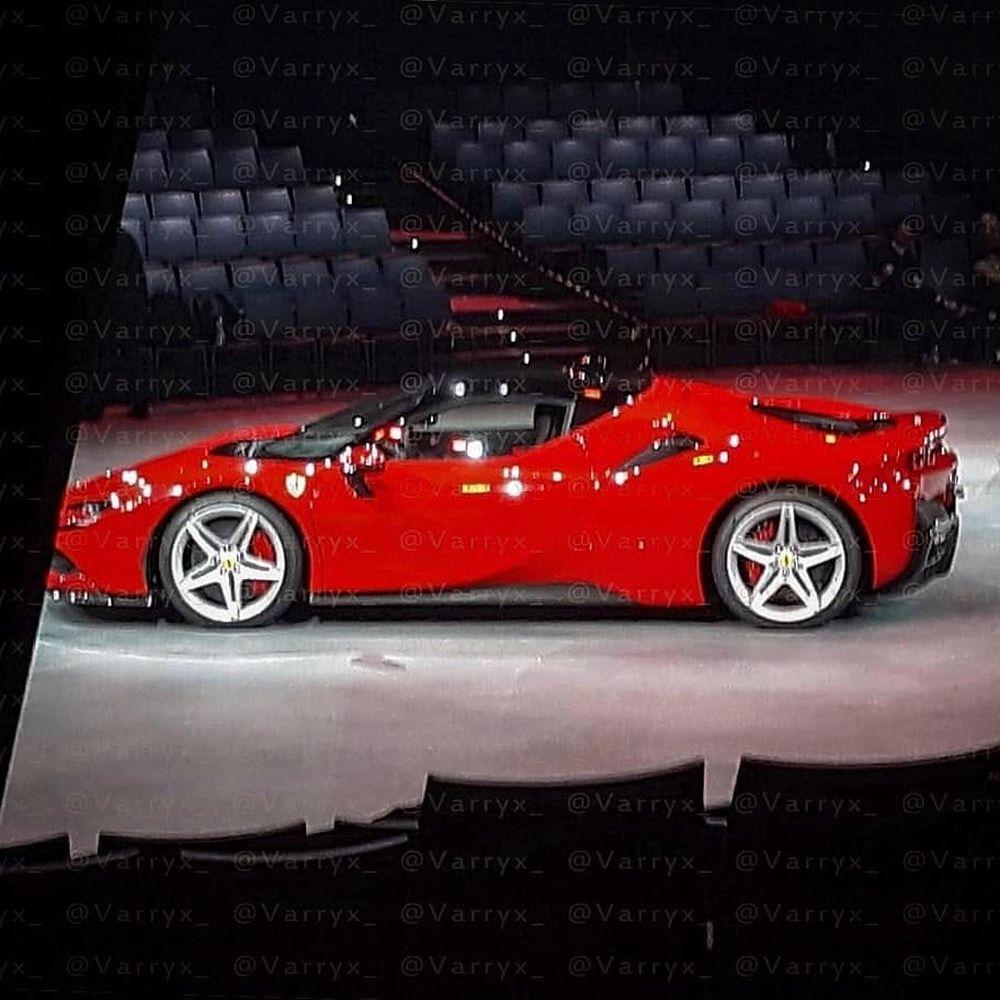 "Ferrari F8 Tributo Rear: Ferrari Hybrid Supercar ""Big Brother"" Leaked. To Be Called"