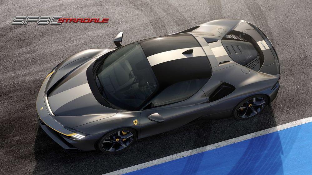 Ferrari SF90 Stradale-plug-in-hybrid-supercar-8