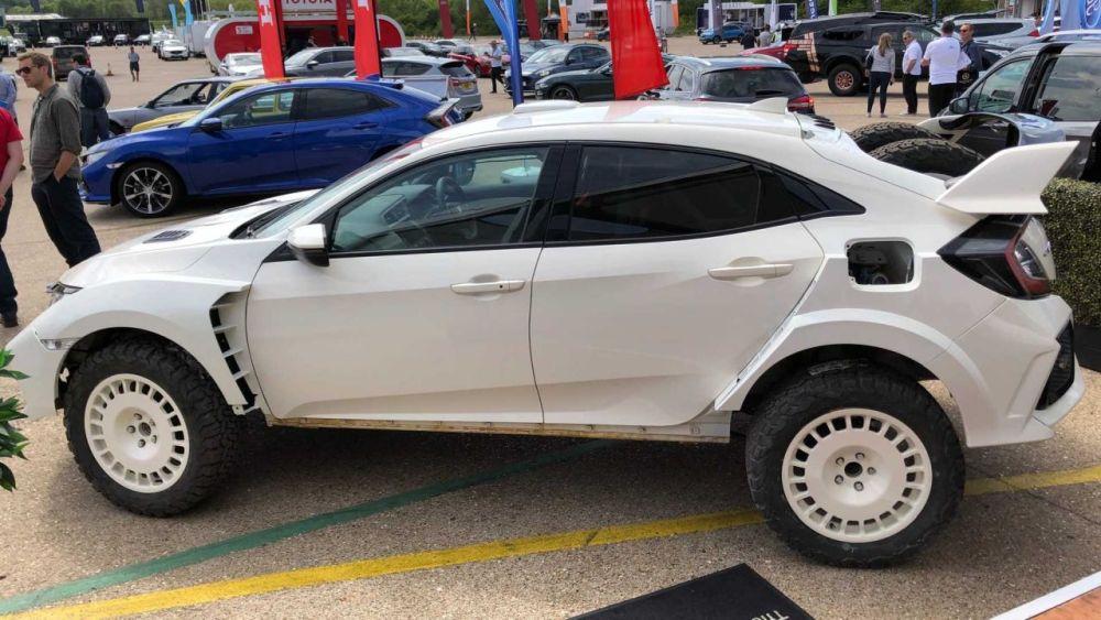 Honda Civic Type OveRland-Off-road-rally-car-2