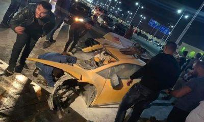 Lamborghini Huracan Egypt Crash-1