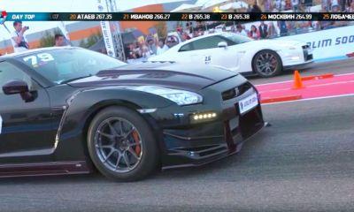 Nissan GT-R Unlim 500-drag race-Russia