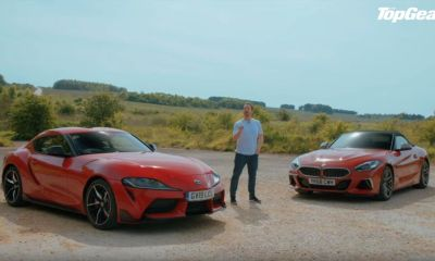 Toyota GR Supra vs BMW Z4-Top Gear