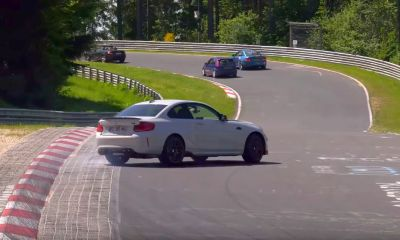 BMW M2 Competition-Nurburgring-crash