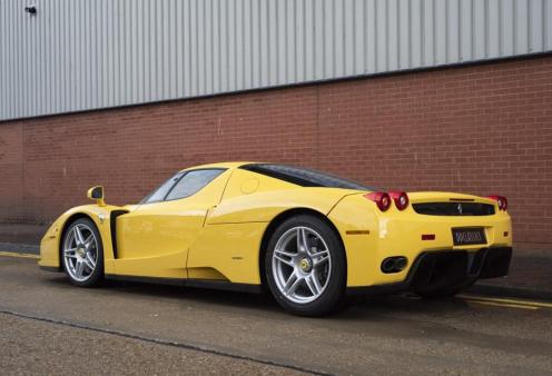 Yellow Ferrari Enzo-for-sale-London-2