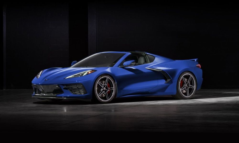 2020 Chevrolet Corvette C8-Lake Blue