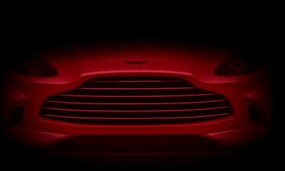 Aston Martin DBX grille-teaser