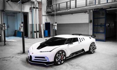 Bugatti Centodieci-EB110 Tribute-Pebble Beach-1