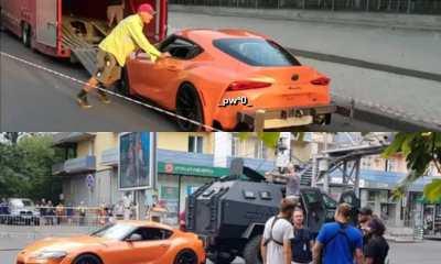 Orange Toyota GR Supra MkV-Fast and Furious